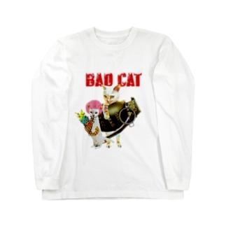 BAD CAT パイナップル Long sleeve T-shirts