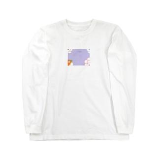 隠岐の昔の遊び Long sleeve T-shirts