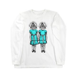 輝く双子 Long sleeve T-shirts