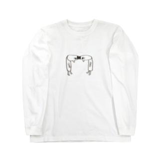 ごっつんこ Long sleeve T-shirts
