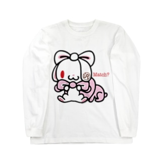 【各20点限定】汎用うさぎ(#2) Long sleeve T-shirts