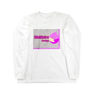 cocoro0206のMoMoiro Design  Long sleeve T-shirts