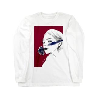 Aimiのフラワーガール Long sleeve T-shirts