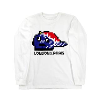LONPARI 8BITS 「CAAAAP」 Long sleeve T-shirts