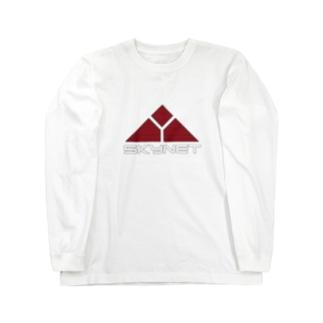 スカイーネット Long sleeve T-shirts