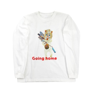 Rock catのCAT GIRL HOME Long sleeve T-shirts