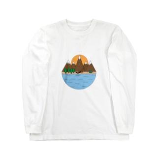 キャンプ Long sleeve T-shirts