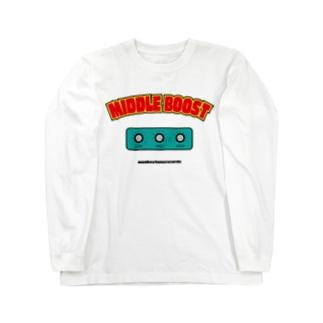 monkeytunerecordsのBoost Long sleeve T-shirts