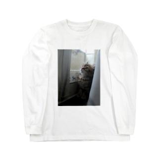 こねこここ Long sleeve T-shirts