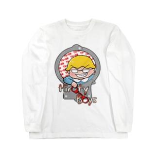 ひろて~ボーイズグッツ Long sleeve T-shirts