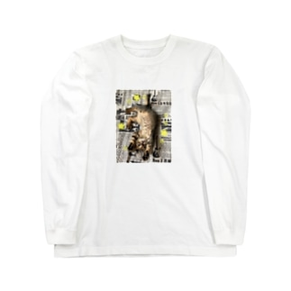 仔猫のtiro  Long sleeve T-shirts