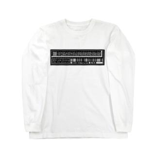 洒落たtag Long sleeve T-shirts