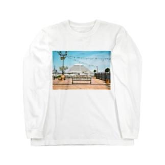 神戸の景色 Long sleeve T-shirts