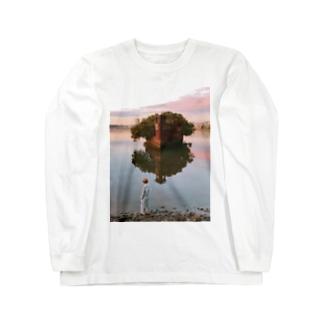 東条ジョナのAbandoned ship Long sleeve T-shirts