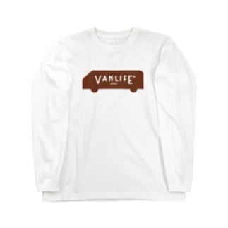 vanlife plus_logomark01 Long sleeve T-shirts