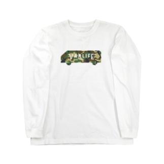 vanlife plus_logomark03 Long sleeve T-shirts