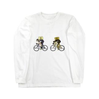 ワンデー・アイデアのUber Eats競輪 Long sleeve T-shirts