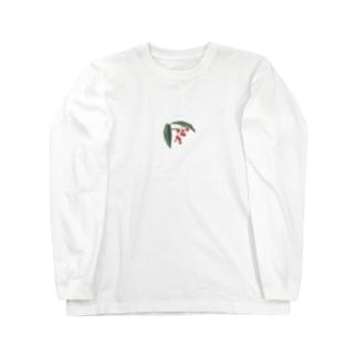 1/23 誕生花【 Coral  bush 】 Long Sleeve T-Shirt