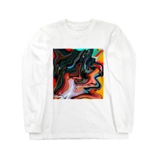 コレ何に見えますか?  Long sleeve T-shirts