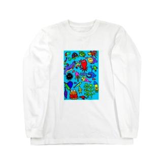 海 Long sleeve T-shirts