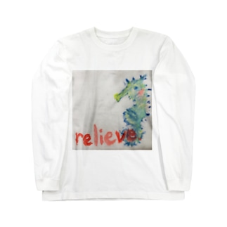 relieve.ーほっとひといき Long sleeve T-shirts