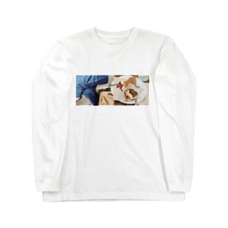 カヤボルンcafe☕️ Long sleeve T-shirts