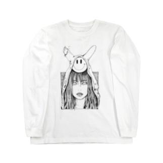 破ける Long sleeve T-shirts
