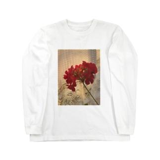 光と花 Long sleeve T-shirts