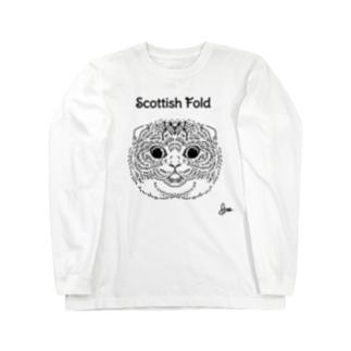 スコフォーちゃん Long sleeve T-shirts