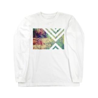 階段のある街 Long sleeve T-shirts