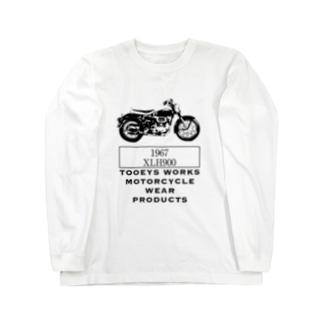 ビンテージSportSter XLH900 アイアンヘッド Long sleeve T-shirts