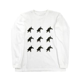 楓花のmei豹 Long sleeve T-shirts