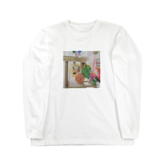 ちゃこん様 Long sleeve T-shirts