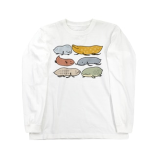Fish or Newt? Long sleeve T-shirts