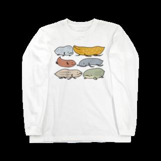 幻想水系branch byいずもり・ようのFish or Newt? Long sleeve T-shirts