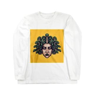 メドゥーサ🐍 Long sleeve T-shirts
