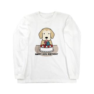 ハタチ(復刻版) Long sleeve T-shirts
