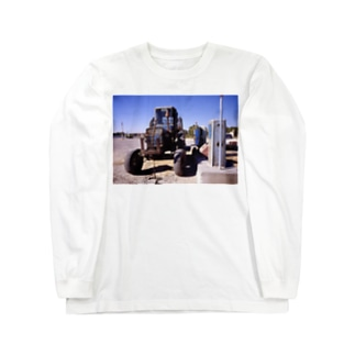 風 ウズベキスタン01 Long sleeve T-shirts