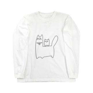 ワタナベさんとすいとん Long sleeve T-shirts