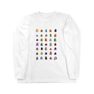 アマビエ 木原幸志郎 Long sleeve T-shirts