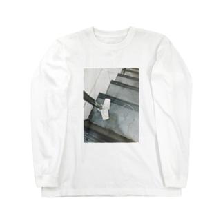 ゆさぎの糸電話 Long sleeve T-shirts