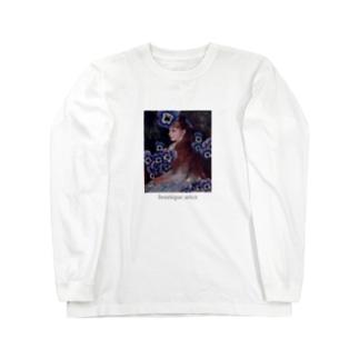 揺るがない花 Long sleeve T-shirts