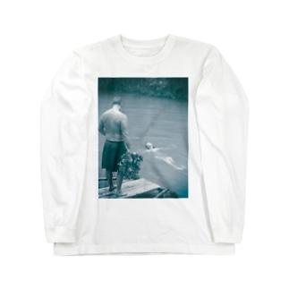 サウナ Long Sleeve T-Shirt