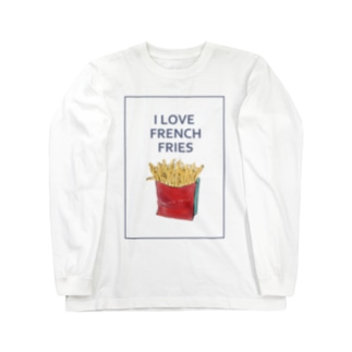 I LOVE FRENCH FRIES Long sleeve T-shirts