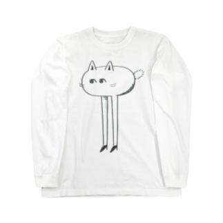 けもみん Long sleeve T-shirts