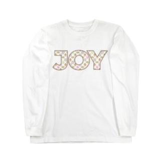ぼんごれモノグラムJOY Long sleeve T-shirts