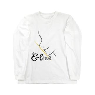 Eライン Long sleeve T-shirts