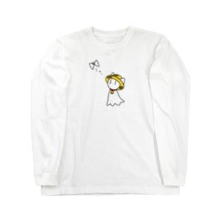 もふハットてるてるのもふハットてるてる(猫) Long sleeve T-shirts