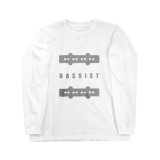 FuYUKIのベーシストJB4 Long sleeve T-shirts
