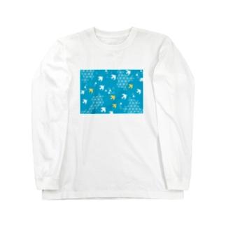 空を疾走る Long sleeve T-shirts